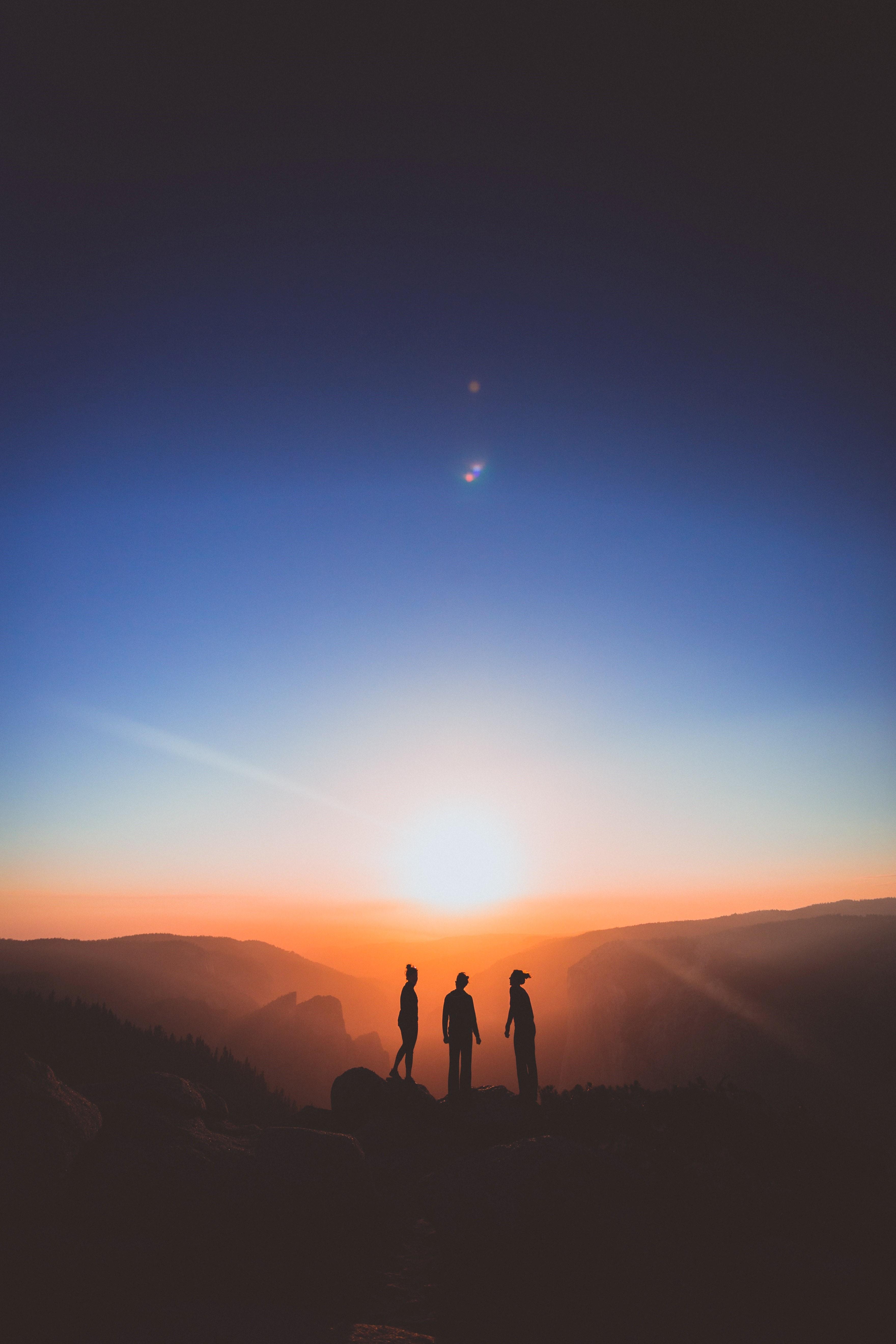 karl-magnuson-people at sunset